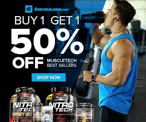 عروض و خصومات وكوبونات موقع bodybuilding.com