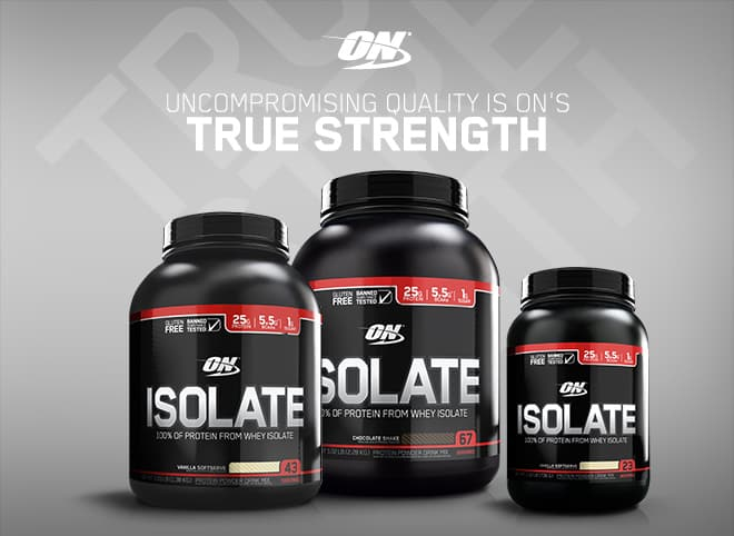 Optimum Nutrition Isolate Protein