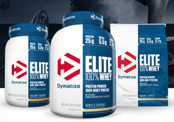 إليت واي بروتين Elite 100% Whey Protein