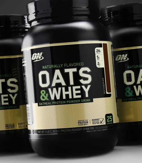 مكمل Natural 100% Oats & Whey
