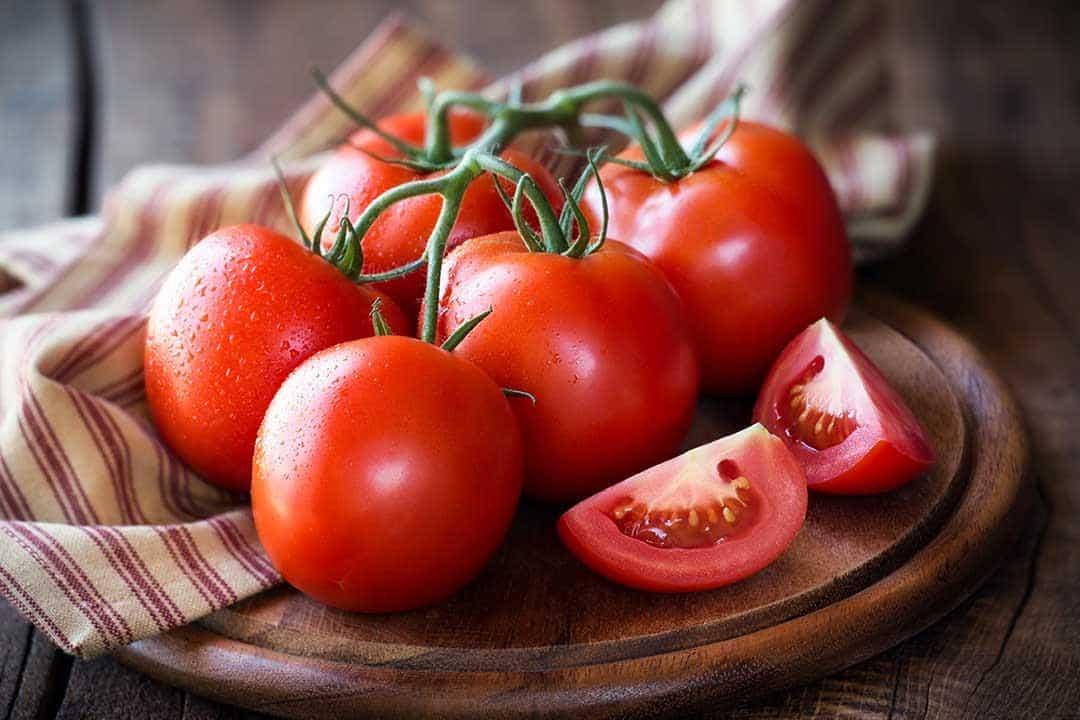 القيمة الغذائية للطماطم