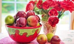 القيمة الغذائية للتفاح