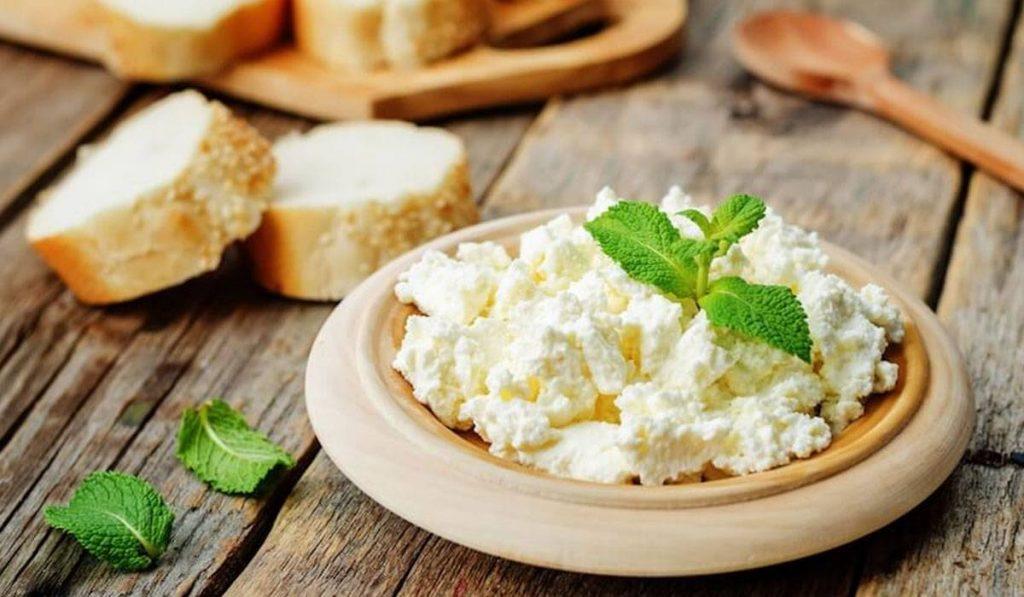 القيمة الغذائية للجبنة القريش